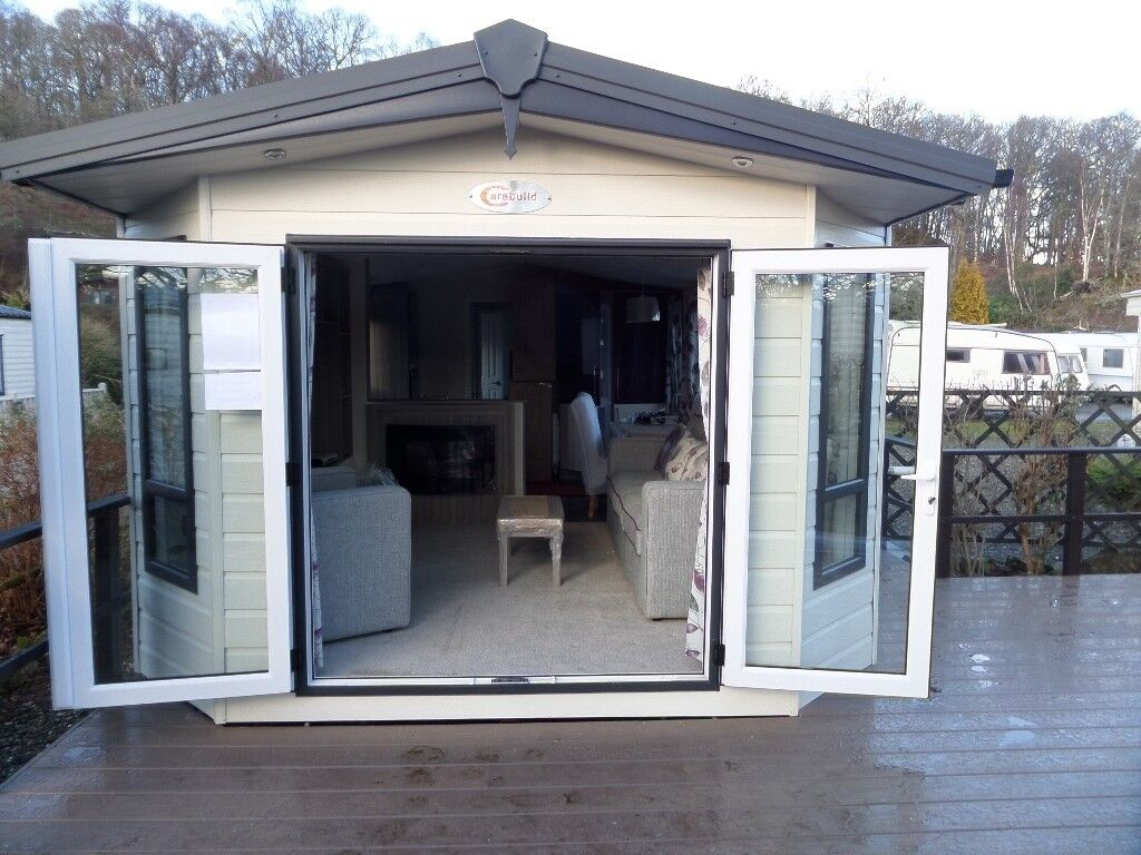 Brand New Carabuild Serene 38 X 12 Holiday Home Central Heating