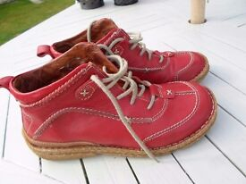 TOP QUALITY LADIES SHOES SIZE 4 [37] FROM JOSEPH SIEBEL REAL LEATHER EXCELLENT CLEAN CONDITION BOOT