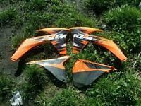 KTM plastic panels