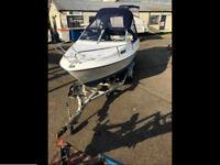 Sealine 19' BMW Sport Cuddie Cruiser / Speed Boat