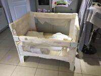 Arms reach co sleeper cot crib large