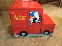 Postman Pat storage toy box