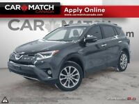2016 Toyota RAV4 LIMITED / LEATHER / SUNROOF / AWD / 98KM Cambridge Kitchener Area Preview