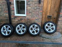 4 X Audi Wheels and Winter Tyres 235/50R/18