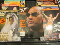 WWE / WWF WRESTLING MAGAZINES x7J AN, FEB ,MARCH ,APRIL ,MAY DECEMBER 1996 AND JUNE 2000