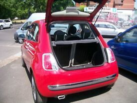FIAT 500 'LOUNGE'.LOW MILEAGE ( 27934 MILES). £30 ANNUAL ROAD TAX. 1242cc. PETROL. MANUAL.