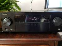 Pioneer VSX-324 5.1 AV reciever + 5 speakers and subwoofer