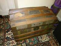 Pine dome top trunk.