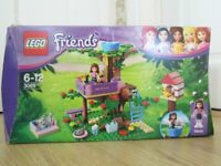 Lego Friends Olivia's Treehouse - Set 3065 - 100% Complete - Very Good Condition - Can Deliver