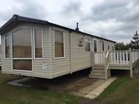 2010 Swift Moselle Luxury Static Caravan sited at Haven Blue Dolphin on the Yorkshire Coast