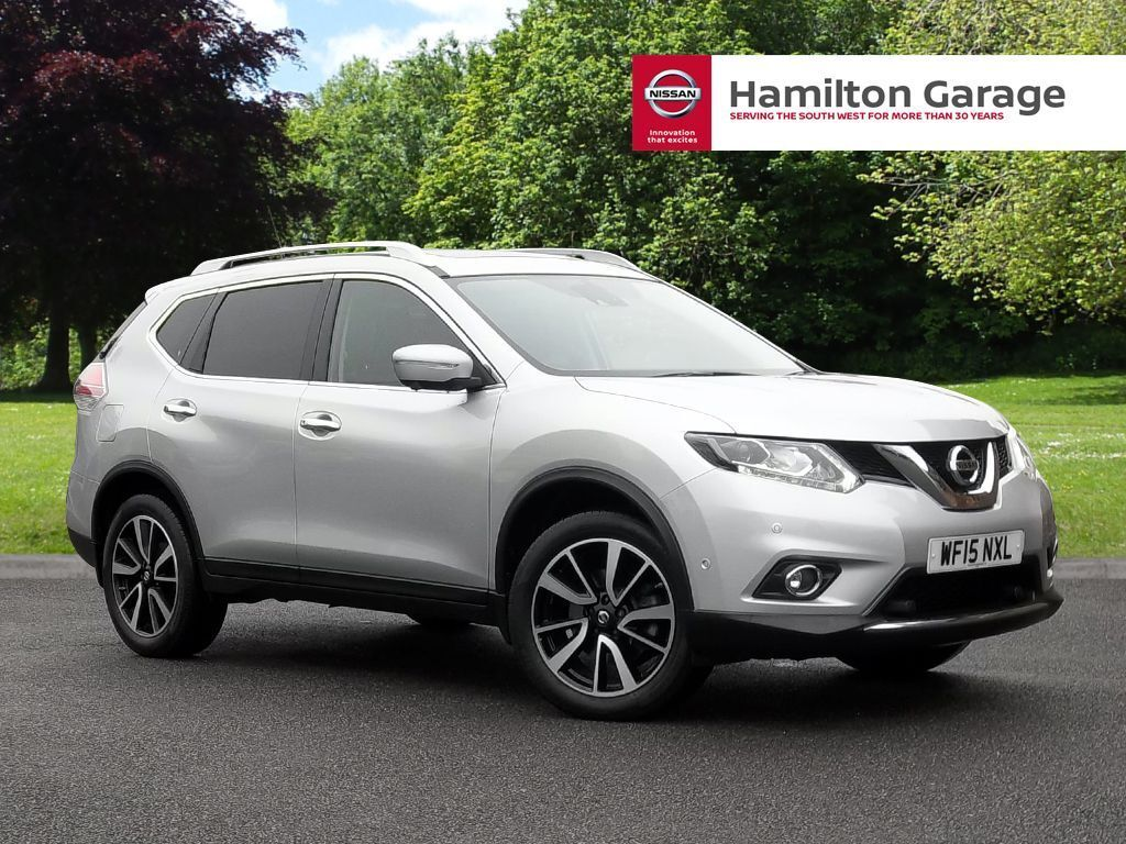 nissan x trail 1 6 dci tekna 5dr 7 seat silver 2015 in sidmouth devon gumtree. Black Bedroom Furniture Sets. Home Design Ideas
