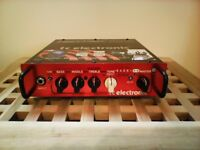 TC Electronic BH250 Bass Head - 250 watts with Footswitch. Very good condition.