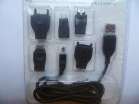 KITMOBILE, Universal USB Data Cable