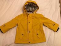 ZARA raincoat boys 9-12 months