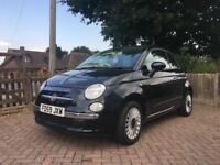 Fiat 500 1.2 LOUNGE model. Great condition & low mileage