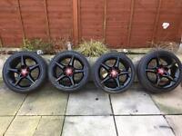 """Vauxhall 18"""" Penta alloy wheels 5x110"""