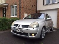 Renault clio Sport 182 for sale, 12 months MOT, *CAMBELT + DEPHASER PULLEY DONE* , Low miles