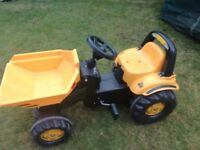 JCB pedal tractor