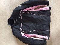 Ladies Motorcycle jacket large