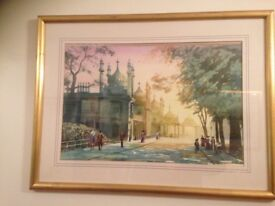 Original framed water colours by rod Pearce, brighton