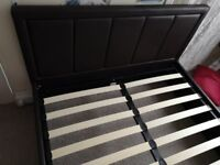 FAUX Leather , Gas lift under storage bed (Frame Only) Good all round cond ...