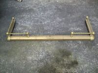 LOVELY LOOKING BRASS FIRE SURROUND