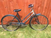 Vintage Raleigh ladies shopping bike 50cm frame