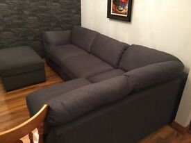 grey corner sofa brand new!!