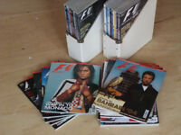 FIA Formula 1 Magazine - complete set / all issues / Issue 1 (March 2001) - Feb 2004 (36 magazines)