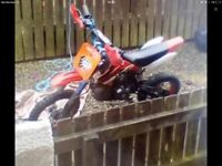 M2r 110 full race tuned pitbike