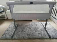 Chicco Next 2 Me - Silver