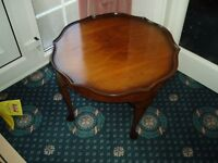 Rose wood coffee table in Doncaster. Great Condition