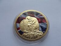 Battle of britain comm strike and 75th anniv second world war coin