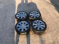 "Renault Clio Sport 182 172 16"" Alloy Wheels & Premium Tyres 205 45 16 4 X 100 Alloys alsofits 195 40"