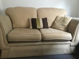 ** FREE ** 2 seater, Chair and Pouffe