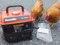 Petrol Generator 720 Watts. Excellent Condition