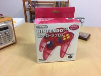 Boxed Red & White Japanese Nintendo 64 Controller (N64) £60.00