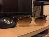 Ray Ban sunglasses - Gold £80