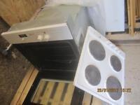 neff integrated hob/oven, fridge freezer and extractor hood, used