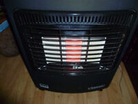 Gas heater with gas cylinder (is not empty)