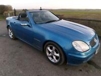 2001 Mercedes slk 200,FSH, New MOT,£ 1695