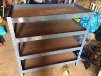 Brand New Garage shelves
