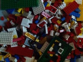 Over 1.5kg used lego
