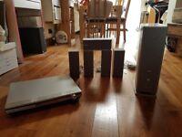 Panasonic AV Receiver, DVD Player & Speakers