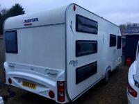 Adria Caravan Altea 524 TD (2010) Triple Bunk Beds. Full Size Shower. Like Hobby/Tabbert And Fendt