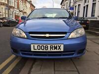 2008 Chevrolet luceti with very low mileage and full service history