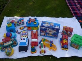 Toy bundle, various including electronic, in good condition