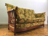 Ercol Renaissance 3 seater sofa. Vintage retro armchair g plan ercol