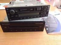 VW (Lupo, Polo, Golf, Passat) 6 CD Changer and Cassette Radio Player.