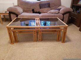 Coffee table. ( Bespoke Charles Rennie MacKintosh style)